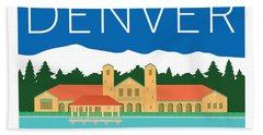 Denver City Park Beach Towel