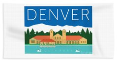 Denver City Park Beach Towel