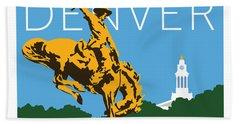 Denver Civic Center Park Beach Towel
