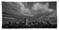 Denver Skyline Beach Towel
