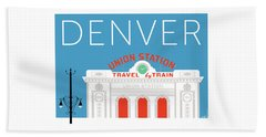 Denver Union Station/blue Beach Sheet