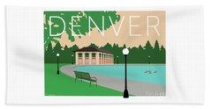 Denver Washington Park/beige Beach Towel