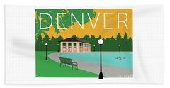 Denver Washington Park/gold Beach Towel