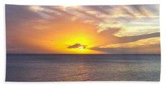 Departing St. Lucia Beach Sheet