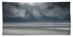 Departing Storm Beach Towel