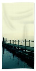 Departure Beach Towel by Rachel Mirror