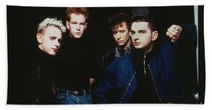 Depeche Mode Beach Towel