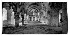 Derelict Cypriot Church. Beach Towel