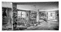Derelict Room. Beach Towel