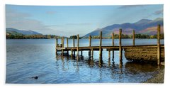 Derwent Water Pier Beach Sheet