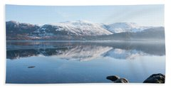 Derwentwater Rocks Beach Towel