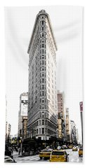 Beach Towel featuring the photograph Desaturated New York by Nicklas Gustafsson