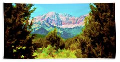 Deseret Peak Beach Towel