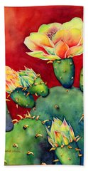 Desert Bloom Beach Towel