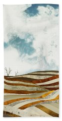 Desert Calm Beach Towel
