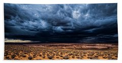 Desert Clouds Beach Towel