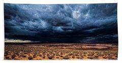 Desert Clouds Beach Sheet