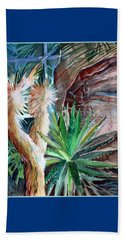 Desert Conservatory Beach Towel by Mindy Newman