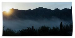 Desert Inversion Sunrise Beach Sheet