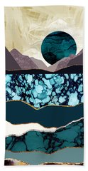 Desert Lake Beach Towel
