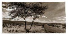 Desert Landmarks  Beach Towel