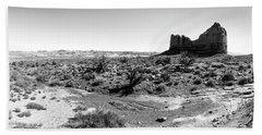 Desert Landscape - Arches National Park Moab, Utah Beach Sheet