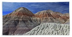 Beach Towel featuring the photograph Desert Pastels by Gary Kaylor