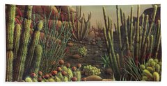 Desert Potpourri  Beach Towel by James Larkin