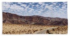 Desert Road 5 Beach Towel