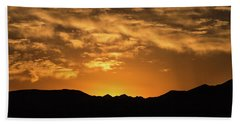 Desert Sunrise Beach Towel