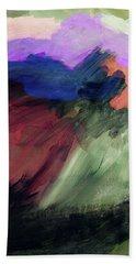 Desert Sunset 1- Art By Linda Woods Beach Towel