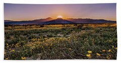 Beach Towel featuring the photograph Desert Vitality by Ryan Weddle
