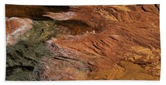 Designs In Stone Beach Towel by Kathy McClure