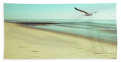 Beach Towel featuring the photograph Desire Light Vintage2 by Hannes Cmarits