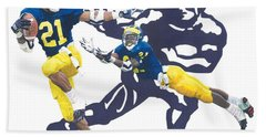 Desmond Howard - Hello Heisman Beach Sheet