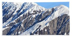Devils Food With Frosting - Wrangall St. Elias Beach Towel