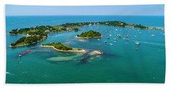 Devils Foot Island Beach Towel