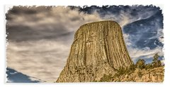 Devils Tower Inspiration 2 Beach Towel