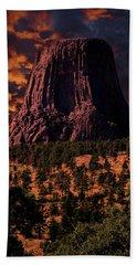 Devils Tower Sunrise Beach Sheet