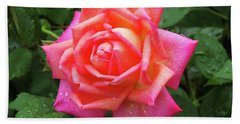 Dewy Rose Beach Towel