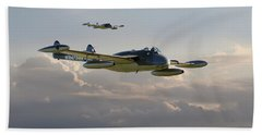 Beach Towel featuring the photograph  Dh112 - Venom by Pat Speirs
