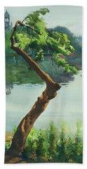 Dhanmondi Lake 03 Beach Sheet by Helal Uddin