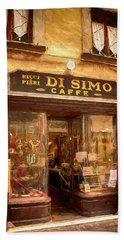 Di Simo Caffe Beach Sheet