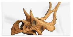 Diabloceratops Beach Towel