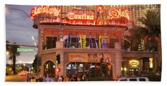 Diablo's Cantina In Las Vegas Beach Towel by RicardMN Photography