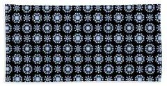 Diamond Mandala Pattern Beach Towel