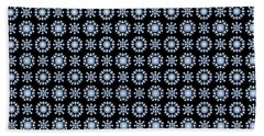 Diamond Mandala Pattern Beach Towel