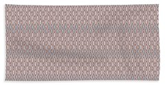 Diamond Rain Tan Beach Towel