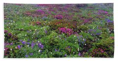 Dickerman Floral Meadow Beach Towel