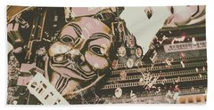 Digital Anonymous Collective Beach Towel
